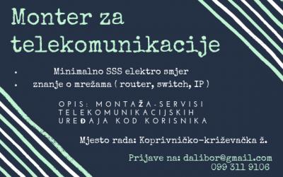 Monter telekomunikacija